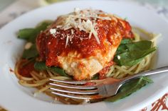 crockpot chicken parm and other recipes at bottom of page