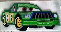 Chick Hicks Cars Pixar hama beads by decokdonat