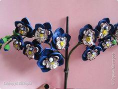 Флористика искусственная Квиллинг Орхидея - волшебный цветок Бумага Бумага гофрированная фото 2