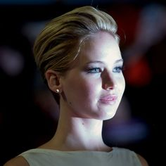 Jennifer Lawrence at the Catching Fire premiere in London