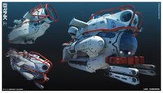 ArtStation - BRINK - Labs - Research Sub, Georgi Simeonov