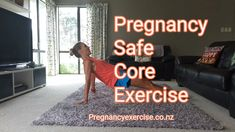 Pregnancy Exercise Safe basic exercises for every trimester. For a full pregnancy training program w Fitness Workouts, Fitness App, Diástase Abdominal, Pregnancy Info, Pregnancy Videos, Pregnancy Clothes, Early Pregnancy, Ab Exercises For Pregnancy, Post Pregnancy Workout