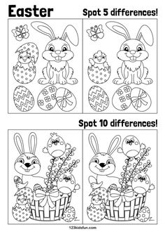 Teaching İdeas 336855247131121320 - FREE Easter printables for kids. Easter Activities For Kids, Easter Games, Easter Crafts For Kids, Preschool Activities, Kids Fun, Free Preschool, Preschool Learning, Learning Games, Teaching
