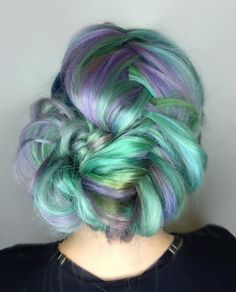 Obsessed with this succulent hair color!