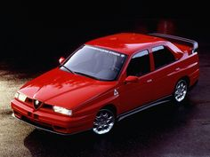 Alfa Romeo 155 TI-Z / GTA-Z: des Zagato pour le Japon !