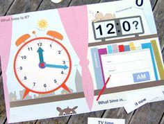 La hora en inglés para niños