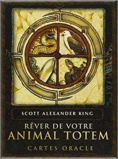 Amazon.fr - Rêver de votre animal totem : Cartes oracle - Scott Alexander King, Karen Branchflower, Anne Confuron - Livres