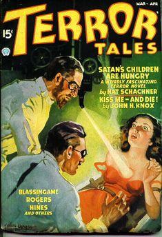 Terror Tales. March 1937