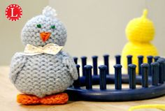 Loom Knit Toys - Tiny Chicks Pattern