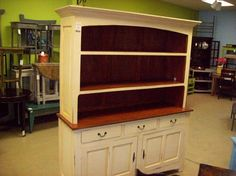 Kitchen Cabinet with Hutch (YD4550) $671 64W 20D 85H
