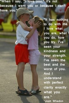 The best I Love You Quote ever! So sweet <3