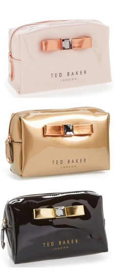 I've never heard of Ted Baker, but I love how classy and pretty these are!