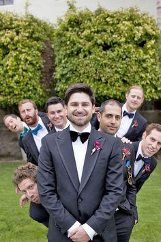 groomsmen photos luna photo / http://www.deerpearlflowers.com/fun-groomsmen-photo-ideas-and-poses/3/