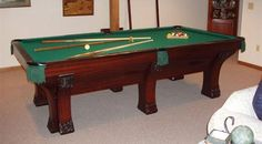 (http://www.classicbilliards.net) When you're taking a break from leading Berbers in insurrection against Fascists, you can relax with some pool!