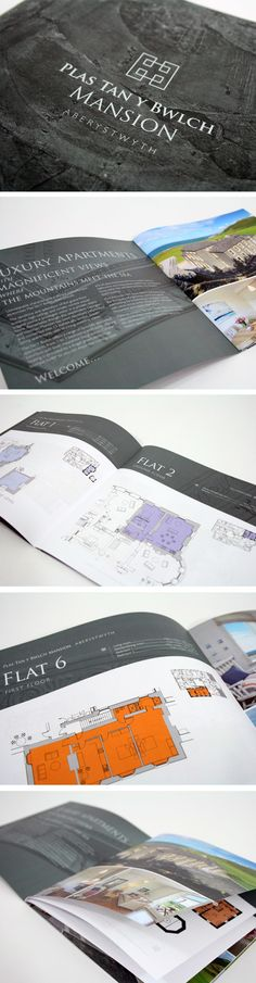 Plas Tan Y Bwlch Mansion, Aberystwyth brochure and branding. Creative Brochure, Brochure Design, Logo Design, Graphic Design, How To Make Brochure, Aberystwyth, Professional Photography, Design Agency, Nike Logo