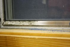 The Pagan Mama Project: Cleaning Oxidized and Moldy Aluminum Window Frames