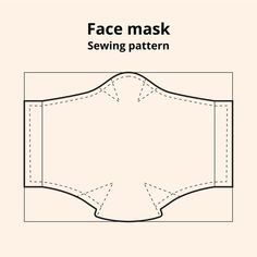 Pink with dots face mask sewing pattern Sewing Patterns Free, Free Sewing, Free Pattern, Pattern Sewing, Pattern Drafting, Sewing Hacks, Sewing Tutorials, Sewing Projects, Video Tutorials