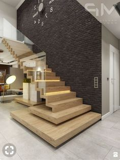 Faltwerktreppe mit Glas Staircase with glass This image has get