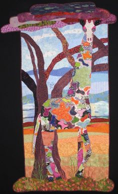 Handmade Art Quilt  Serendipity by joystrings on Etsy, $1200.00