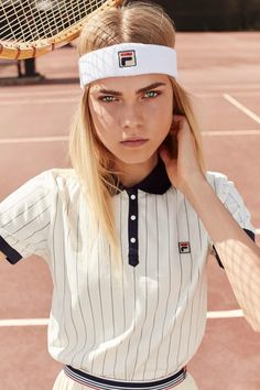 FILA x Urban Outfitters Polo Shirt available for $60.00