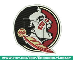 Football Machine Embroidery Designs by EmbroiderlyLibrary on Etsy