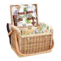 Picnic Time Kabrio Botanica | Overstock.com Shopping - Big Discounts on Picnic Time Picnic Baskets