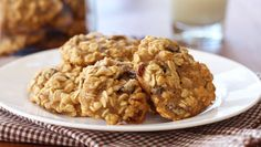 These cookies replace most of the butter with applesauce so you won't feel as guilty eating them. Click here for more Skinny Desserts by Gina