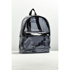 UO Clear Backpack (12 KWD) ❤ liked on Polyvore featuring men's fashion, men's bags, men's backpacks and urban outfitters