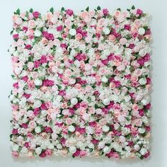 Wedding Flower Wall Panel For Party Birthday Decoration Artificial Rose Floral Wall Party Arrangement Wedding Photography Backdrop 40*60CM  Perfect for wedding, birthday party, baby shower or of your special events, decorate walls or baby rooms. These panels create a romantic and whimsical backdrop