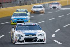 Dale Earnhardt Jr. Photos Photos - Dale Earnhardt Jr., driver of the #88 Nationwide Patriotic Chevrolet, leads a pack of cars during the Monster Energy NASCAR Cup Series Coca-Cola 600 at Charlotte Motor Speedway on May 28, 2017 in Charlotte, North Carolina. - Monster Energy NASCAR Cup Series Coca-Cola 600