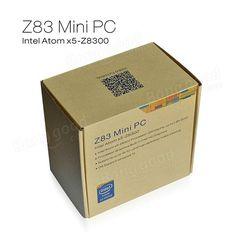 Z83 Windows 10 Intel Atom x5-Z8300 2G/32G 4K 3D XBMC 1000M LAN Wifi Miracast Airplay DLNA Bluetooth TV Box Windows Mini PC Sale - Banggood.com