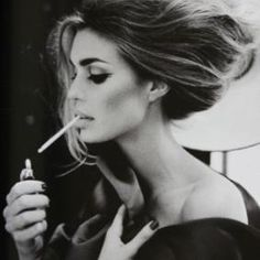 Model smoking thin  #cigarette #smoke #smoking http://socialsmoking.com if you've heard of e-cigarettes