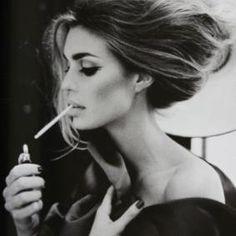 Model smoking thin  #cigarette #smoke #smoking http://socialsmoking.com if you've heard of e-cigarettes