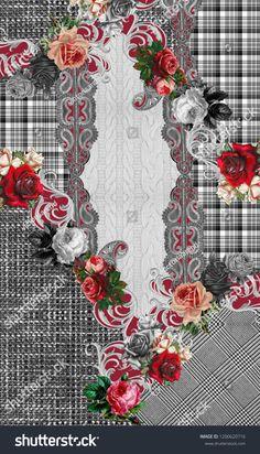 Flor Iphone Wallpaper, Elephant Tapestry, Flower Designs, Digital Prints, Wolf, Scrapbook, Embroidery, Art Prints, Future