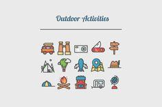 Outdoor Activities by tesko on Creative Market