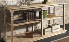 .: WOODHOUSE eShop :. Space Saving Furniture, Country Style, Entryway Tables, Shelves, Design, Home Decor, Rugged Men's Fashion, Shelving, Decoration Home