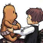 I'm not a HUGE Starwars Fan, but I am a HUGE Chewbacca fan! So cute!
