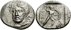 Lycia, stater. Perikles (yes that Perikles). Expelled from Athens he ironically became a Persian Satrap.