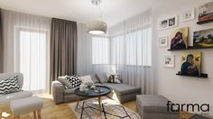 Salon - zdjęcie od FORMA - Pracownia Architektury Wnętrz i Krajobrazu - Salon - FORMA - Pracownia Architektury Wnętrz i Krajobrazu