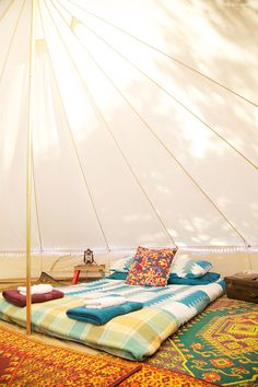 Glamping at Mornington Peninsula with Happy Glamper Camping Glamping, Camping Ideas, Stuff To Do, Things To Do, Bell Tent, Wonderful Places, The Great Outdoors, Outdoor Decor, Outdoor Ideas
