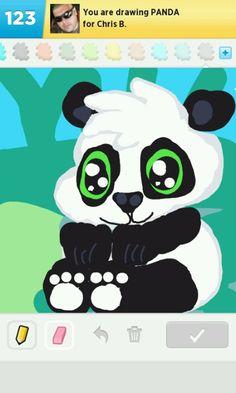 panda - draw something