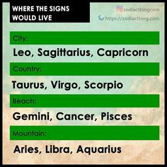 #taurus omg no, not ever, i prefer cities oh god