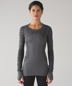 I'm obsessed with these shirts! I wear them constantly. Swiftly Tech Long Sleeve Crew | Women's Long Sleeve Running Tops | lululemon athletica