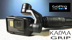 GoPro Karma Grip Gimbal Stabilizer Unbox and Features