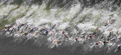 28.07 Aux championnats du monde de natation de Kazan, en Russie, les nageuses se mesurent aux 10 km de natation en eau libre.Photo: Stefan Wermuth