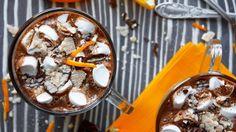 Kankaları Barıştıran Tarif: Portakallı Sıcak Çikolata!
