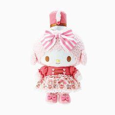Sweet My Melody <3 pink skirt (*^o^*) マイスウィートピアノ ぬいぐるみ