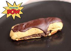 Dark Chocolate Protein Eclairs