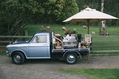 Vintage Ute Mobile Coffee Cart Melbourne