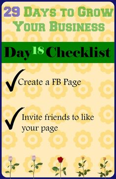 Blog post at My Cherished Haven :     Hello Friends! Welcome to day 18 of our 29 Day Challenge to Grow Your Business! I am so excited to have you here and hope the [..]
